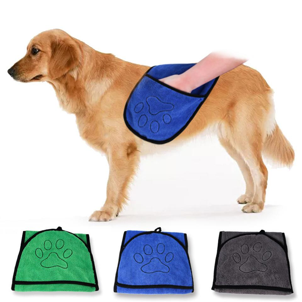 dog towel dry