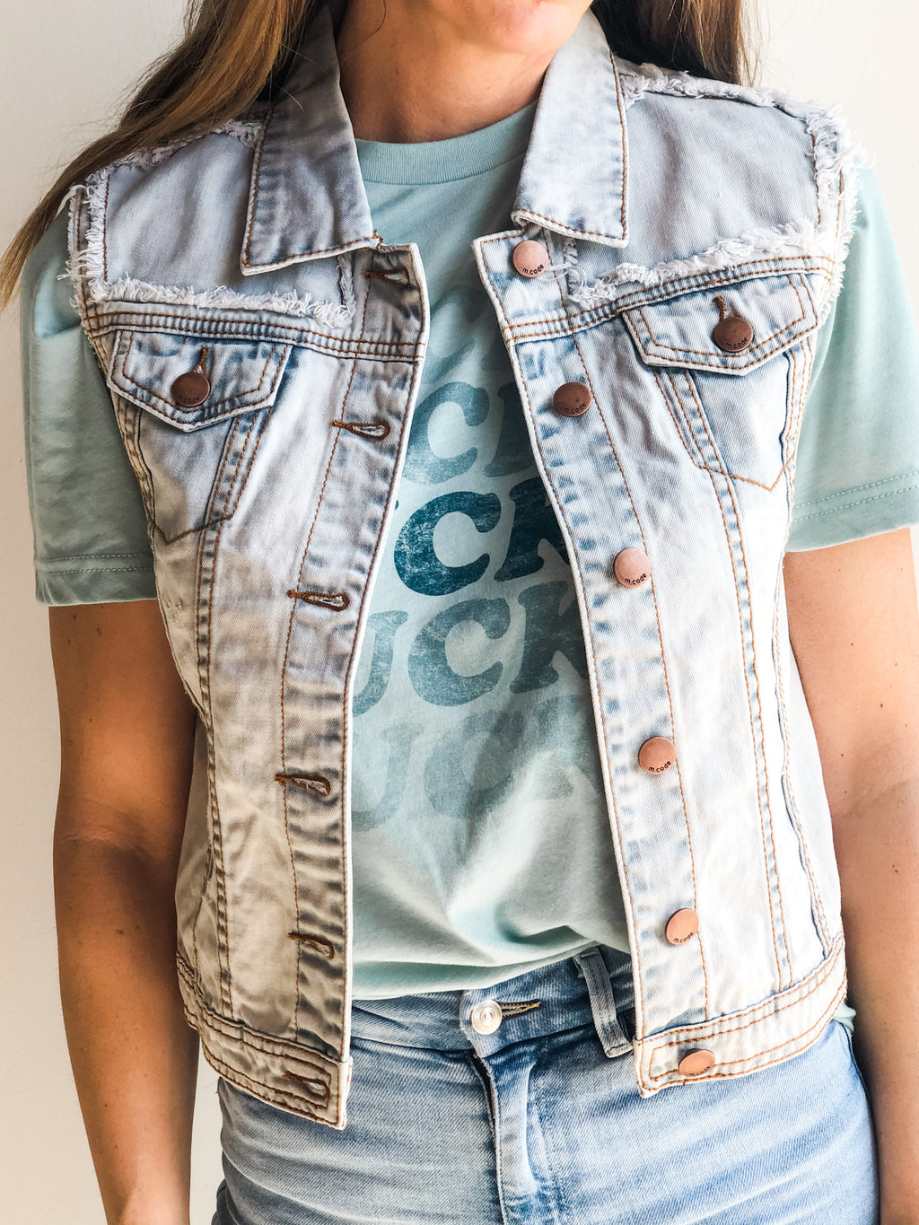 REBEL DENIM VEST