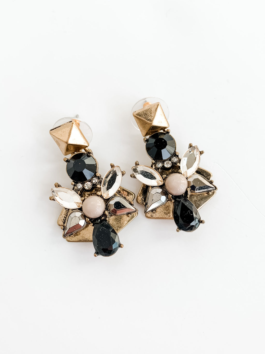 GEMMA RETRO EARRINGS