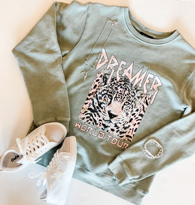 DREAMER WORLD TOUR GRAPHIC SWEATSHIRT