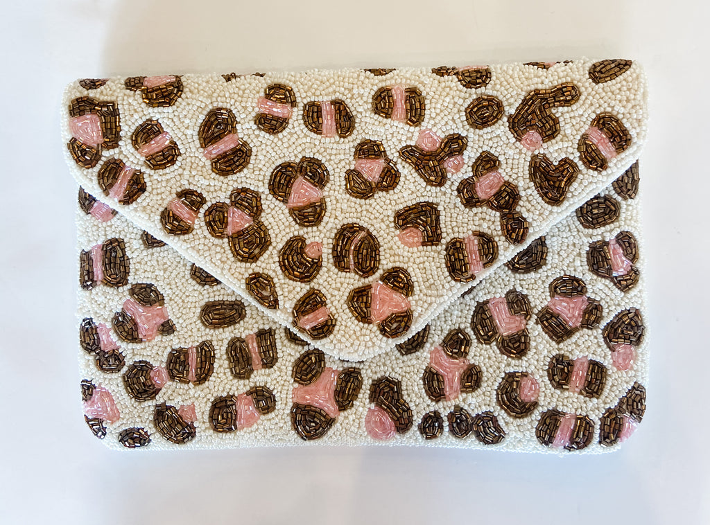 LARGE BEADED CLUTCH