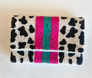 MINI BEADED CLUTCH
