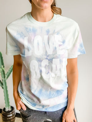 LOVE LOCAL TIE-DYE T-SHIRT
