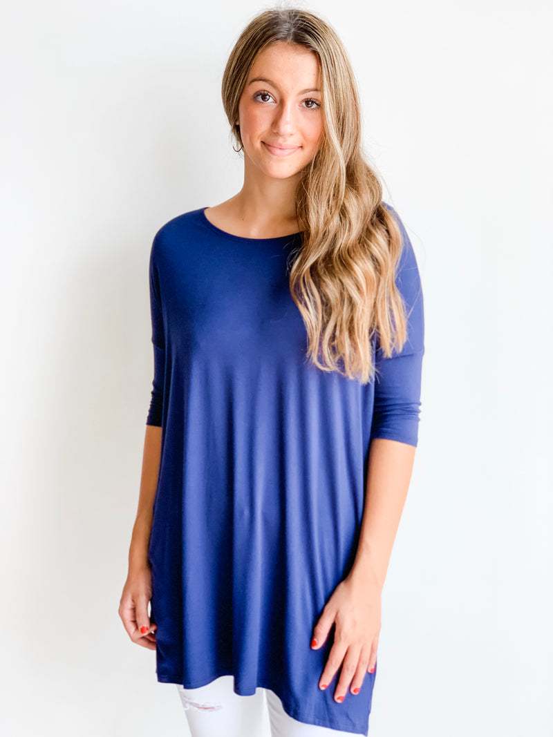 LOOSE FIT BAMBOO TUNIC