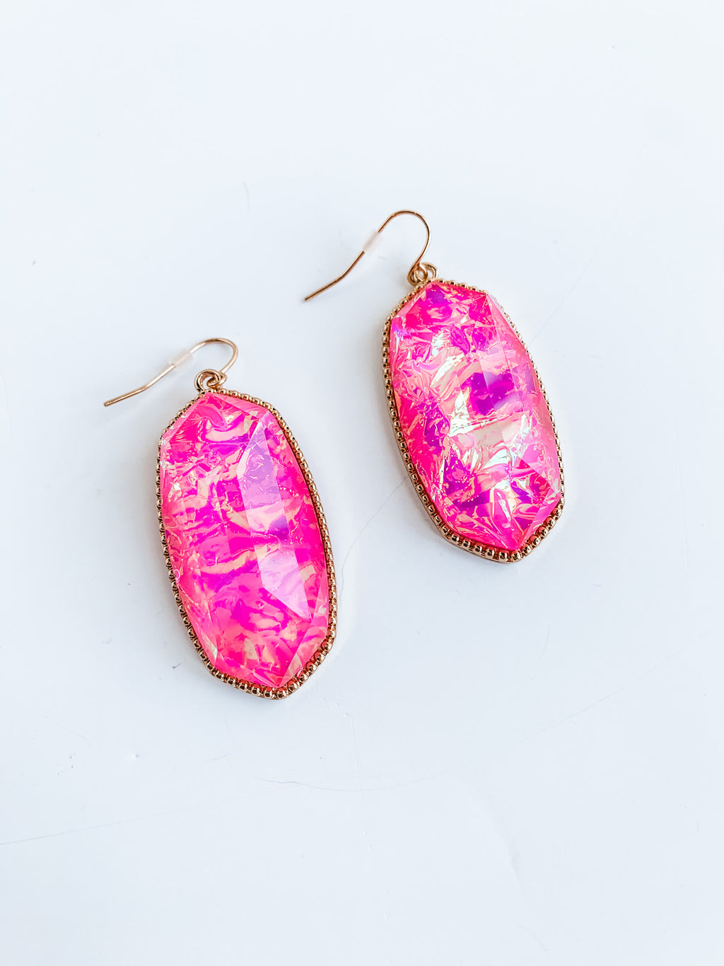 OPAL FUCHSIA EARRINGS