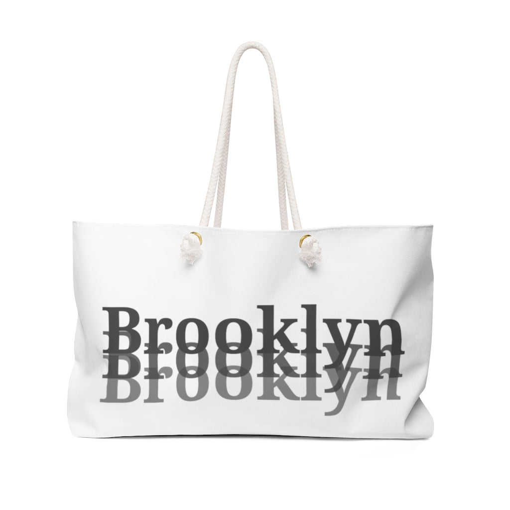 Brooklyn Inspired I Weekender Bag