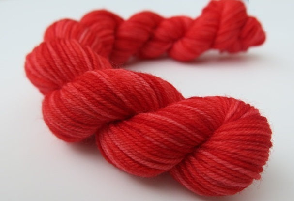 Rainbow Red - Full or Mini Skein on Choufunga Sock