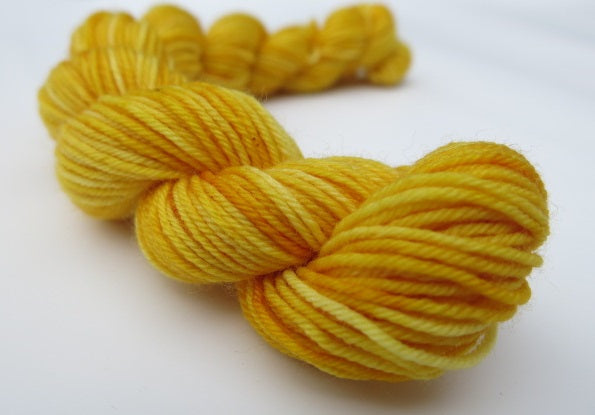Rainbow Yellow - Full or Mini Skein on Choufunga Sock
