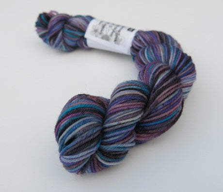 Delphinium Mix on Choufunga Sock - Mini Skein