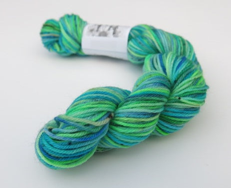 Painted Pond on Choufunga Sock - Mini Skein