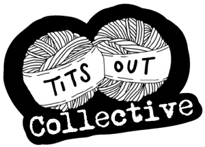 tits out collective logo