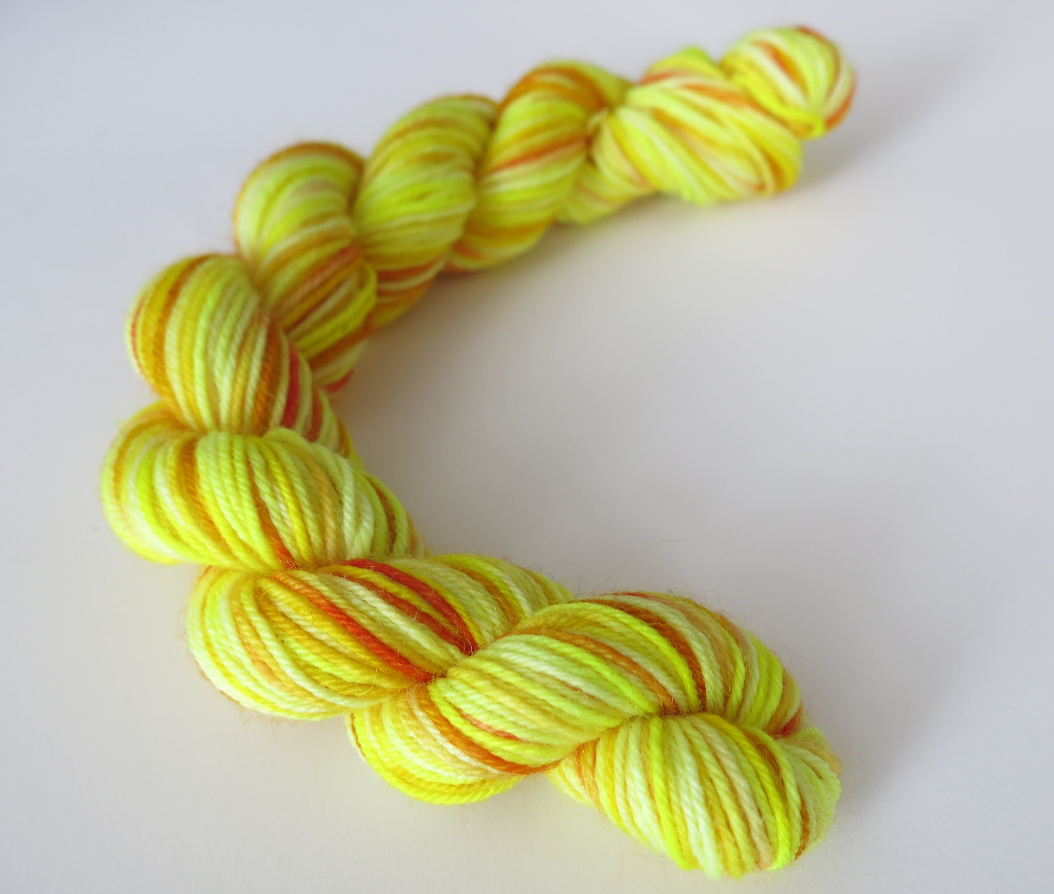 Daffodil Mix - Mini Skein on Choufunga Sock