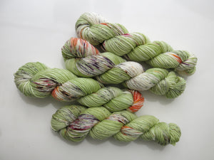 indie dyed fear and loathing superwash merino yarn