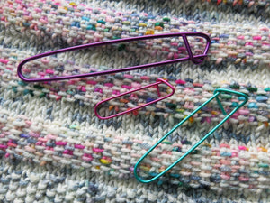 HiyaHiya Aluminium Stitch Holder Set for knitting