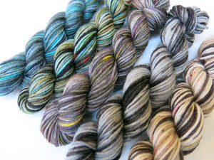 sock yarn mini skein set inspired by scottish myth