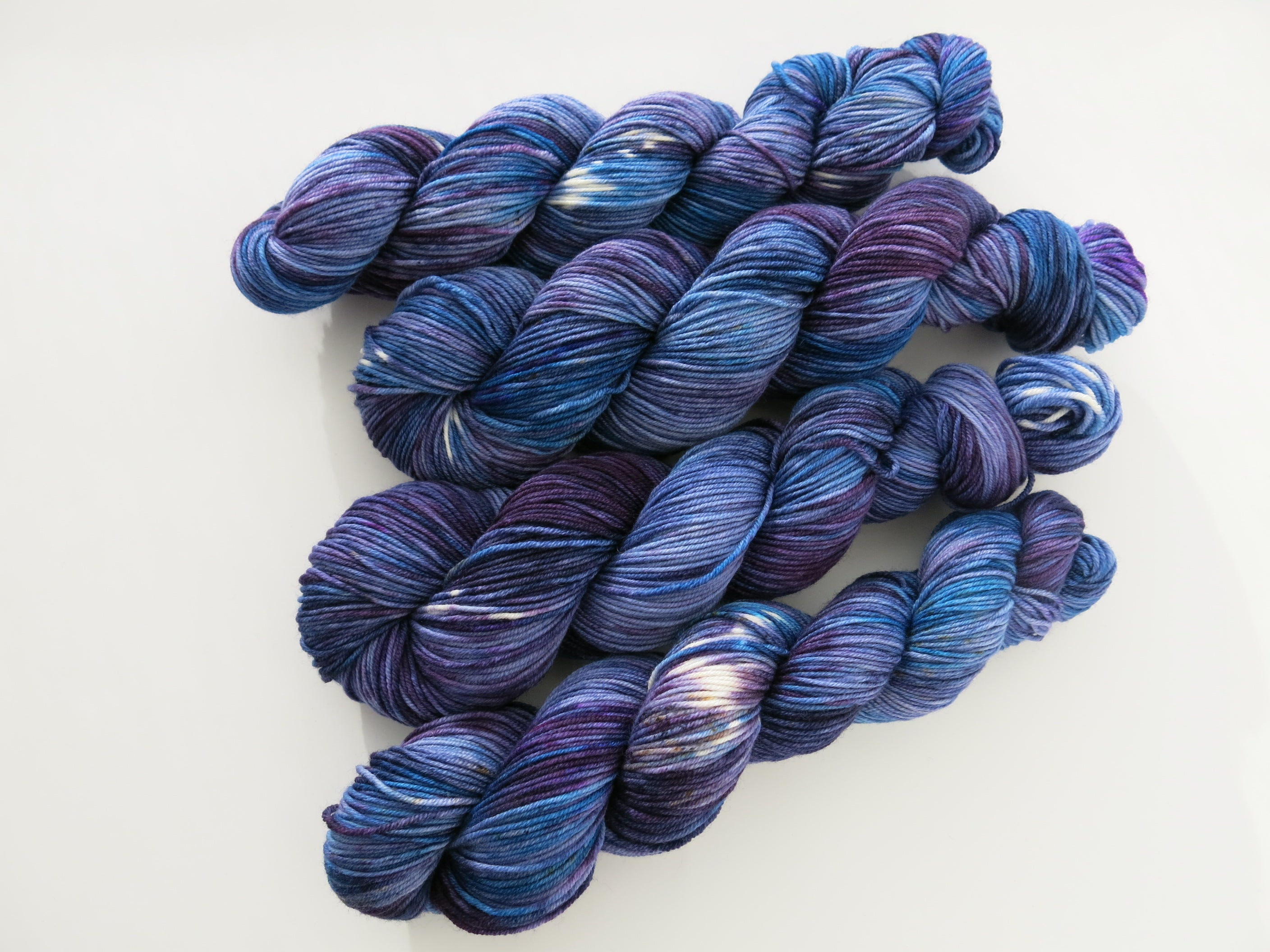 indie dyed patsy superwash merino dk yarn skein