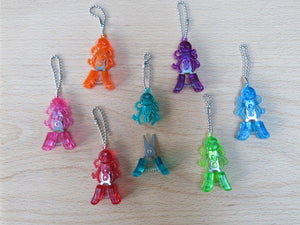 hiyahiya rainbow colored tiny scissors octopus yarn snips