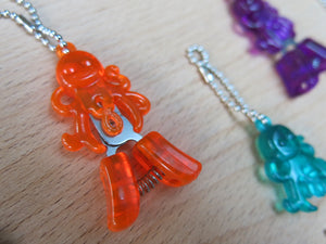 hiyahiya orange octopus yarn snips craft scissors