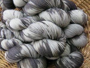 indie dyed british bfl sock yane skeins