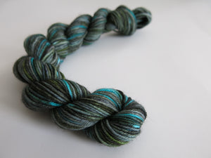 indie dyed sock yarn with a scottish theme