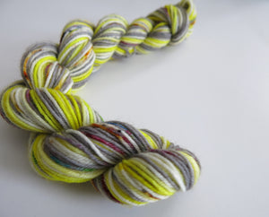 indie dyed mini skein inspired by fear and loathing