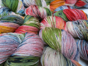 indie dyed yarn inspired my fear and loathing lizard lounge