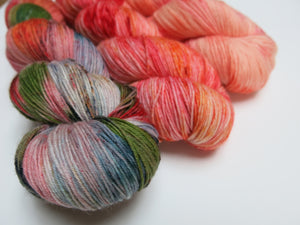 indie dyed superwash merino sock yarn set