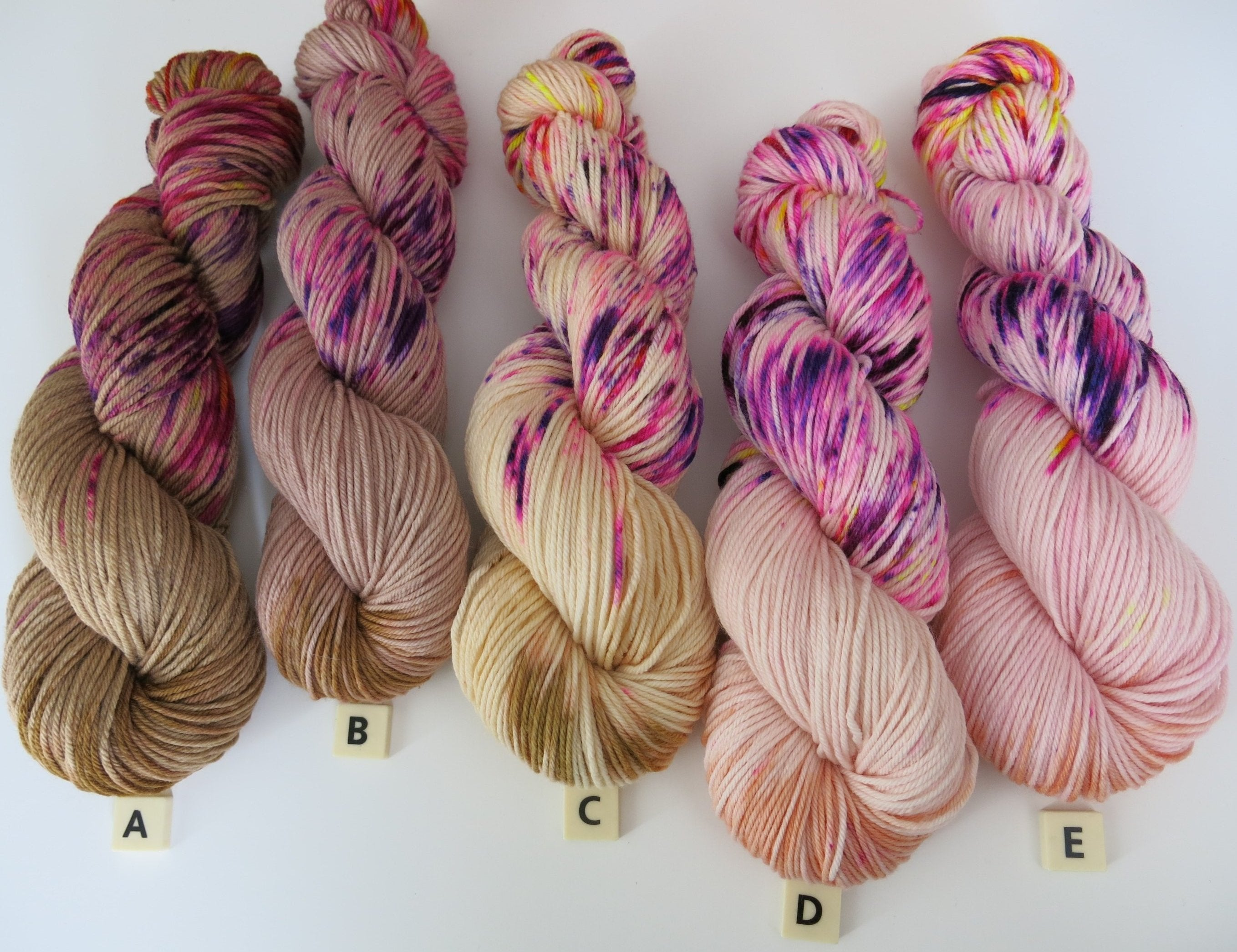 mamas magic milk machines double knit indie dyed yarn