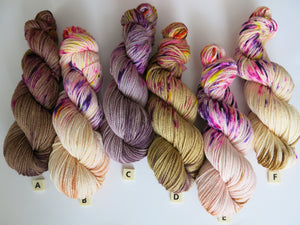 indie dyed uv reactive yarn for fiber crafts
