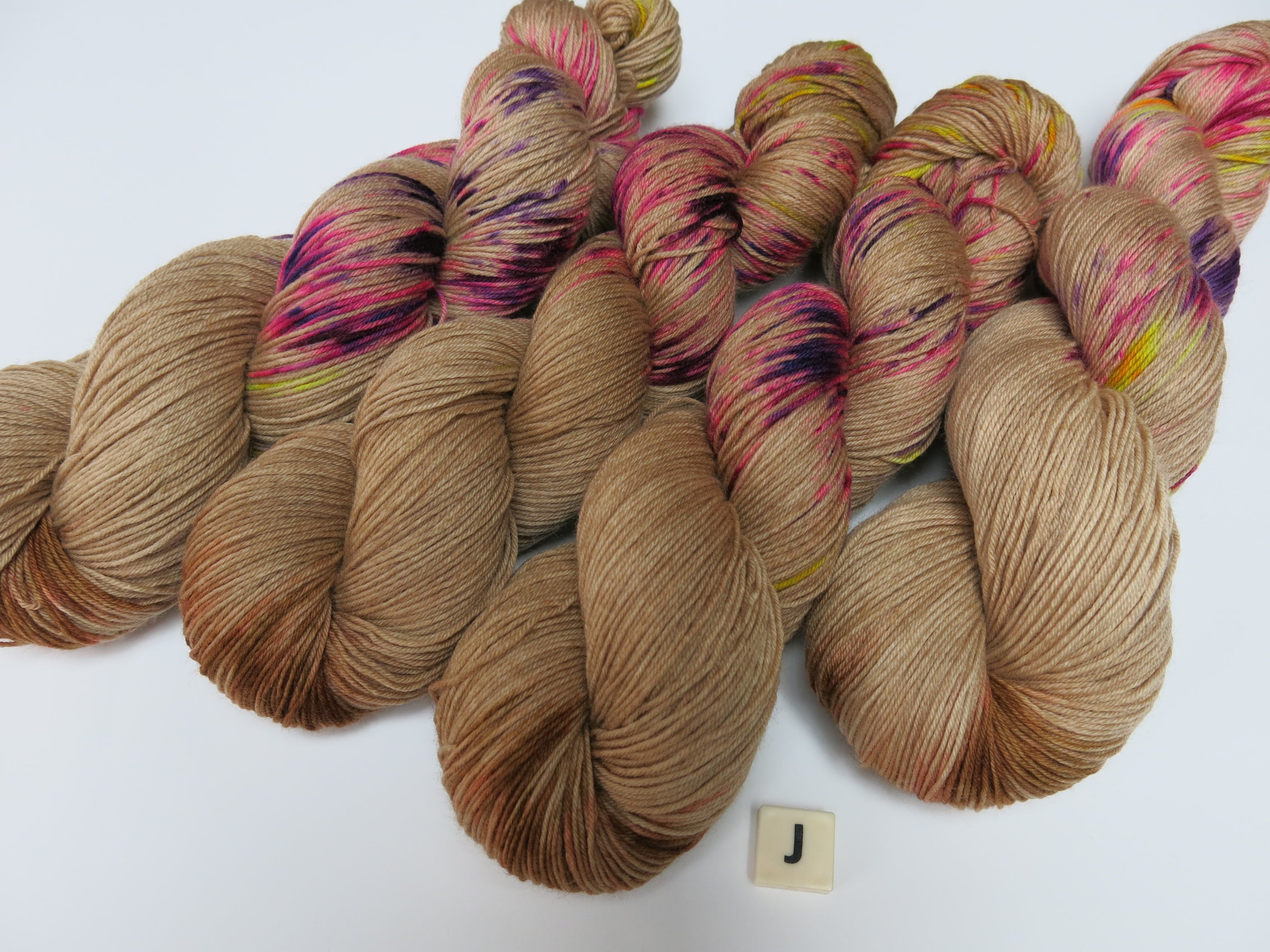 indie dyed sock yarn for knitting and crochet