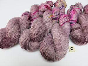 hand dyed unique yarn 100g skeins