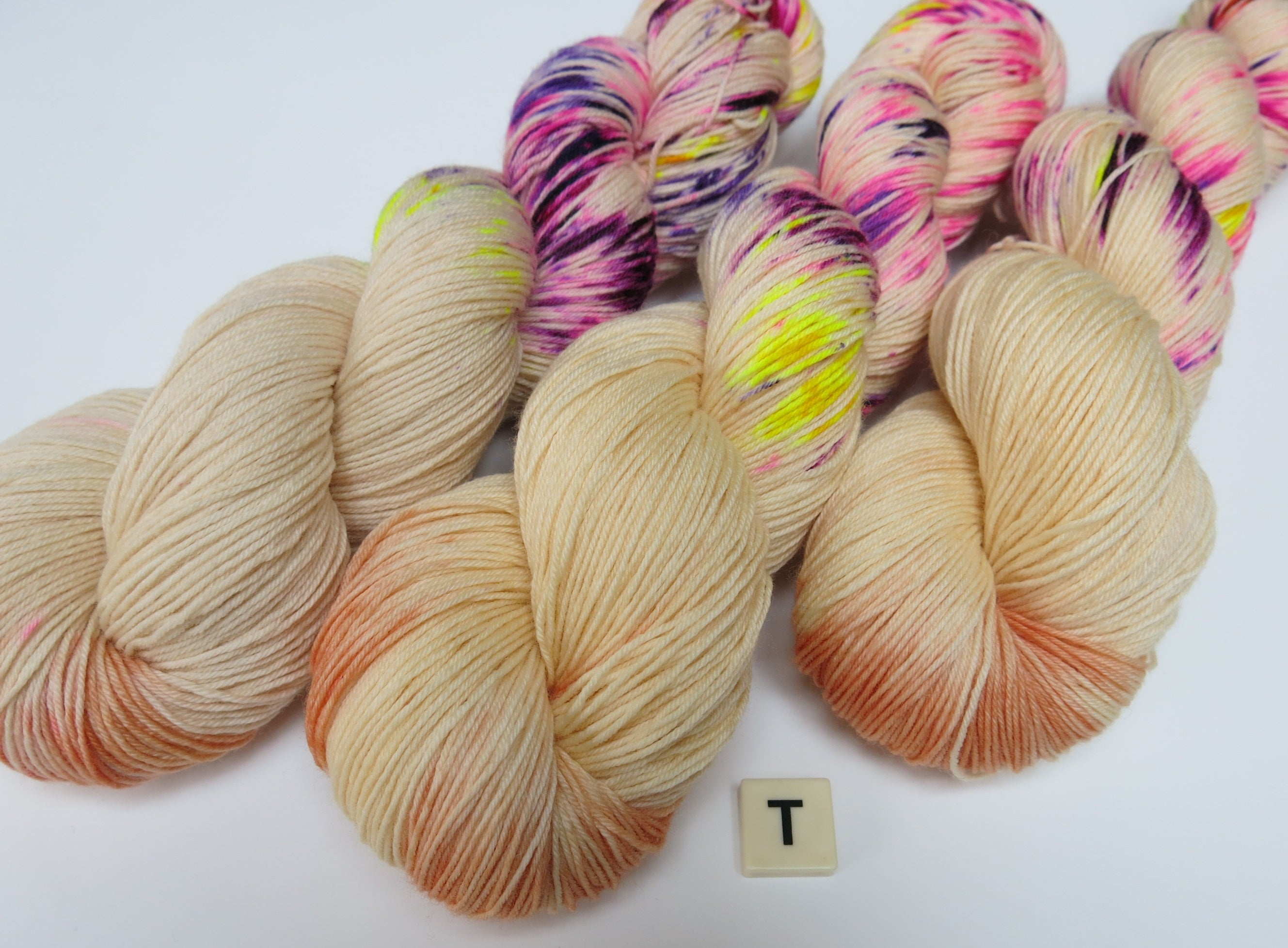 tits out collective cahrity fund raising yarn skeins