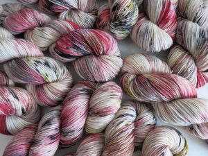 gorbals vampire inspired yarn for knitting and crochet