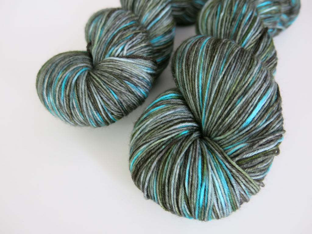 kettle dyed yarn with a scottish theme