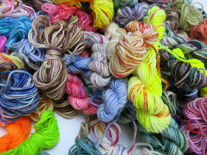 sock yarn creativity packs for crafts and weaving