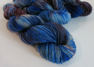 hand dyed british sock wool for knitting and crochet