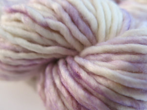 pastel purple chunky yarn for knitting and weaving