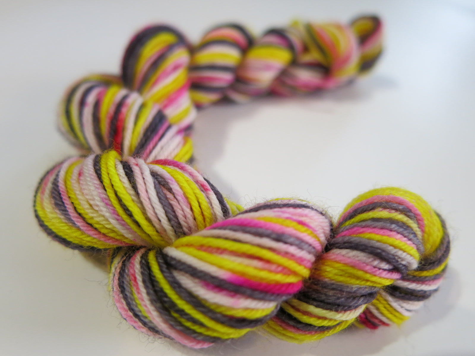 hand dyed 20g mini skeins for knitting and crochet