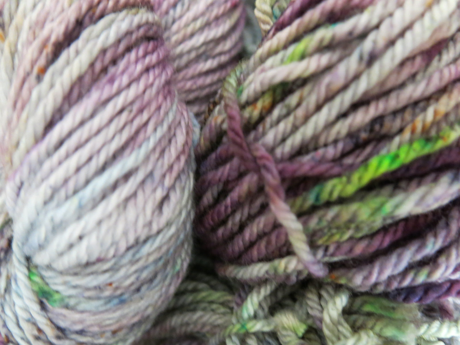hand dyed merino aran yarn for knitting and crochet