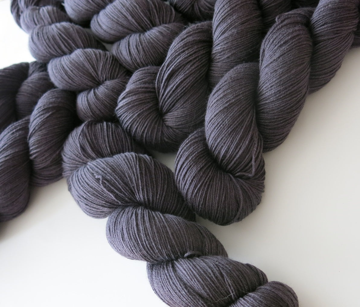 witches cape sock yarn by indie dyer my mama knits