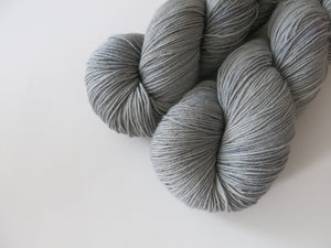 solid light grey sock yarn skeins for knitting and crochet