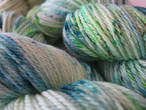 ghost of captain cutler scooby doo inspired green yarn skeins