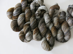 indie dyed scottish selkie themed yarn by my mama knits