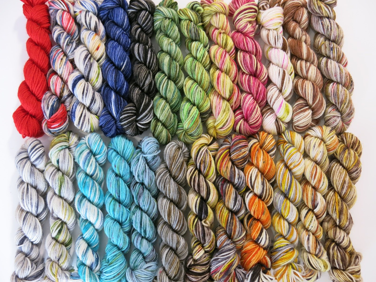 scottish myth and folklore mini skein set by my mama knits