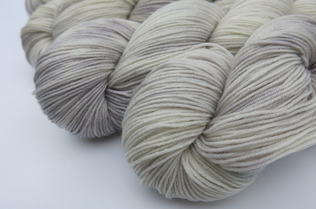 Silver Lining - Full or Mini Skein on Choufunga Sock