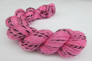 Cotton Candy on Tiger Sock - Mini Skein