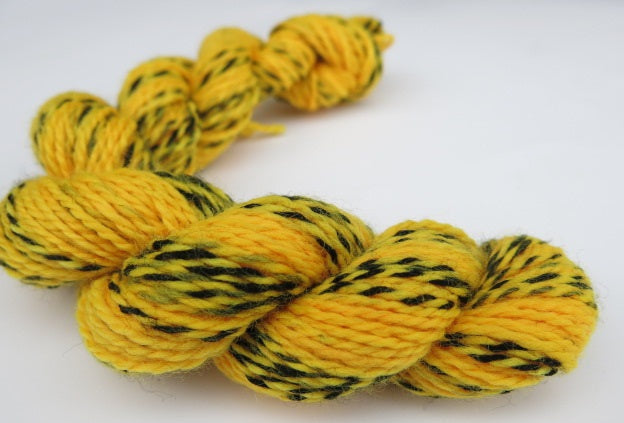 Smooth - No Bits on Tiger Sock - Mini Skein