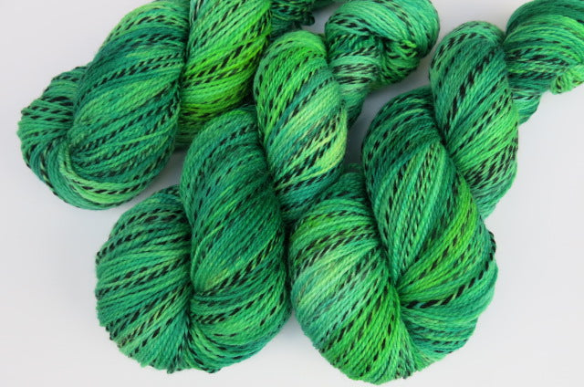 Slimer on Tiger Sock - 100g Skeins or Mini Skeins