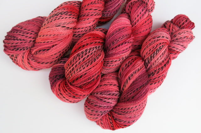 Office Party Vampire on Tiger Sock - 100g Skeins or Mini Skeins