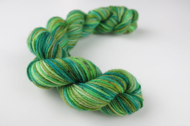 Garden Greens - Mini Skein on Choufunga Sock